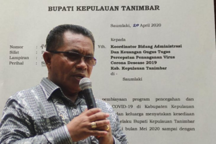 District head in Maluku to donate salary to COVID-19 fight