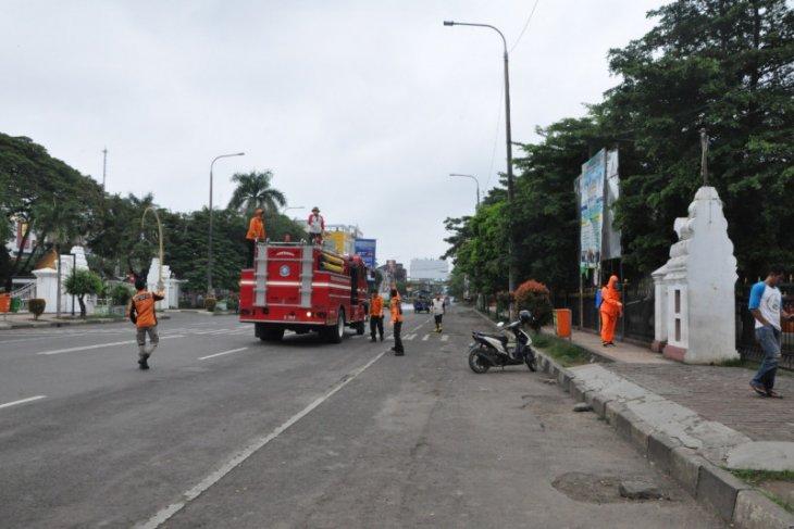 Cegah penyebaran Covid-19, Pemprov Banten lakukan penyemprotan disinfektan 1.187 lokasi