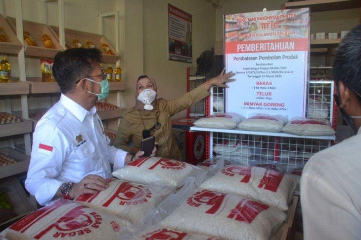 Mentan Syahrul Yasin Limpo ajak masyarakat beli kebutuhan pokok di TTIC Makassar
