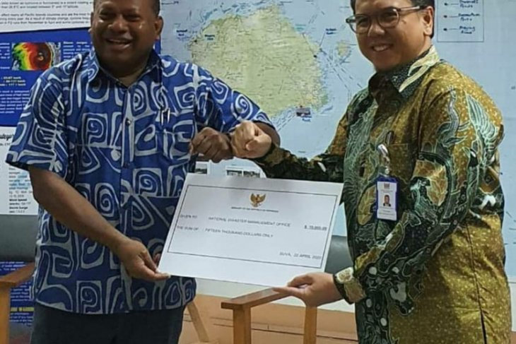Indonesia extends US$7,500 assistance to cyclone victims in Fiji