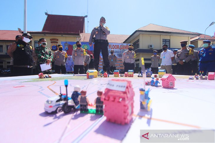 Sistem Pengamanan Kota Jelang PSBB Banjarmasin