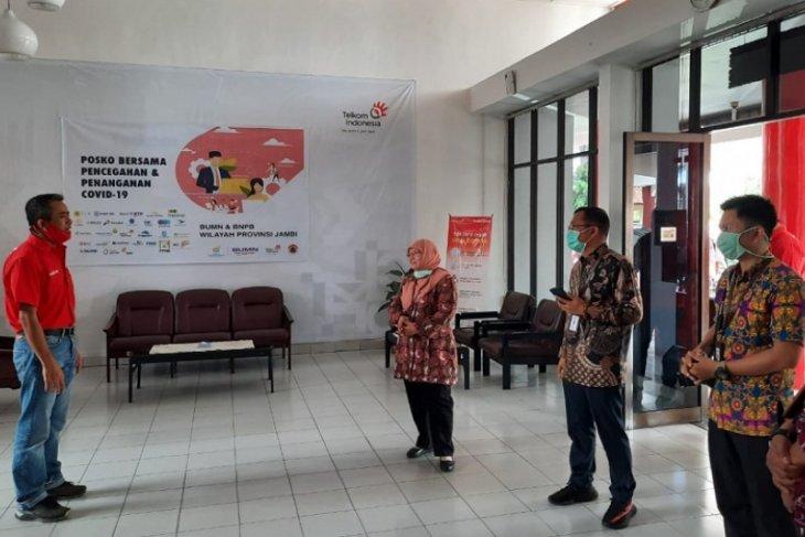 Taspen serahkan bantuan melalui Satgas Bencana BUMN wilayah Jambi