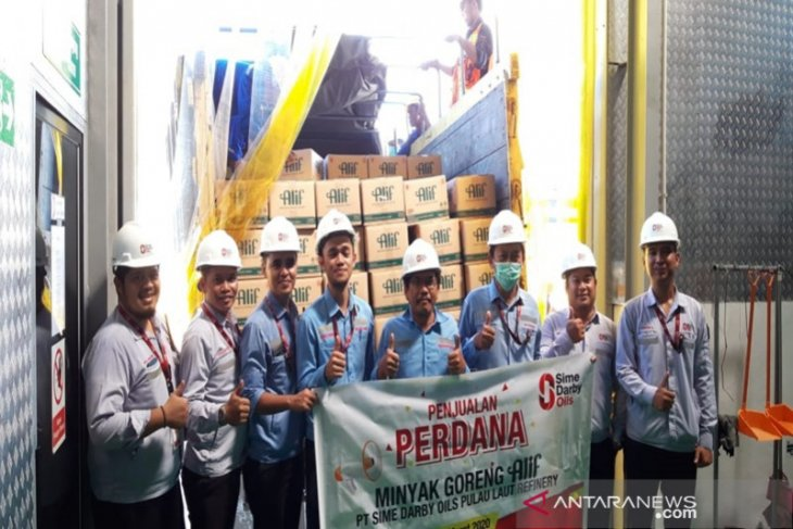 Minamas produces the first cooking oil in Kalimantan