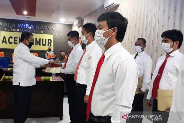 East Aceh police rewarded for busting drug trafficking operation