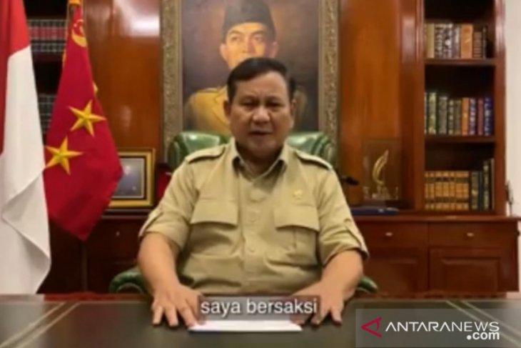 Prabowo: Keputusan Presiden Jokowi untuk rakyat paling miskin dan lemah
