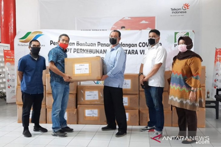 Bantuan APD dan nutrisi mengalir melalui Satgas Bencana BUMN Jambi