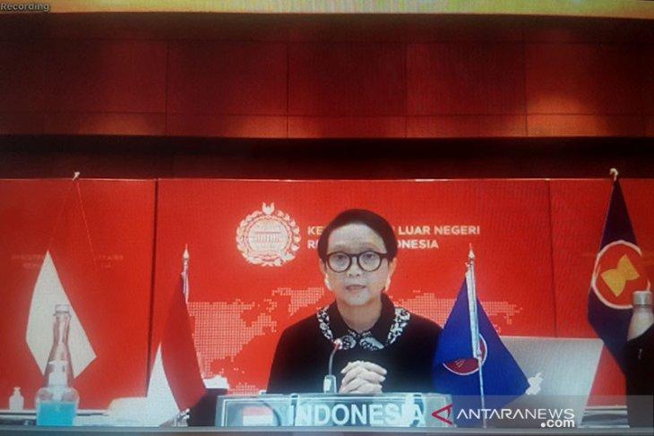 Menlu jelaskan alasan Garuda Indonesia masih terbang ke Australia