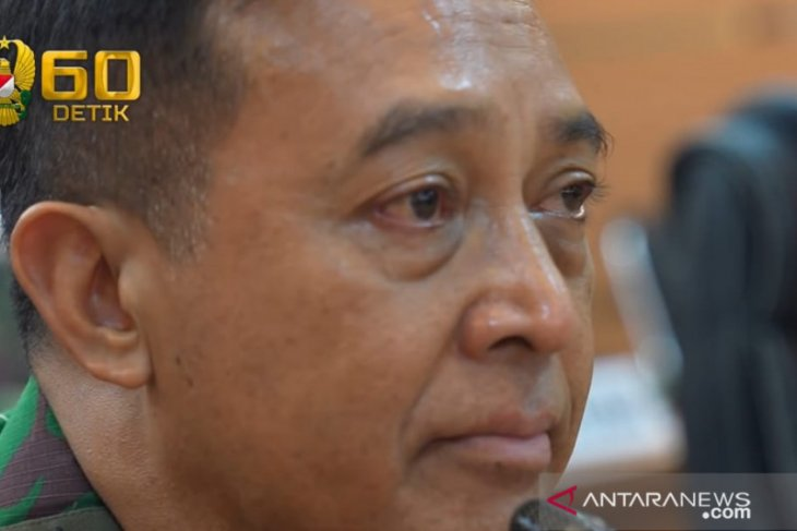 Suster RSPAD buat Jenderal TNI Andika Perkasa berlinang air mata