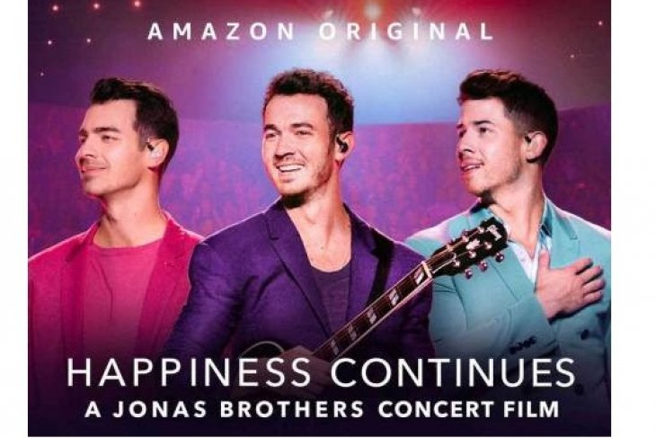Happiness Continues for Jonas Brothers fans with an all new concert documentary premiering tomorrow, Friday April 24, 2020 exclusively on Amazon Prime Video