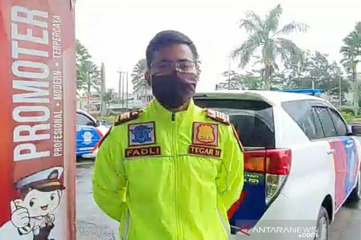 Larangan mudik, Polres Bogor lakukan penyekatan di perbatasan Cianjur-Sukabumi