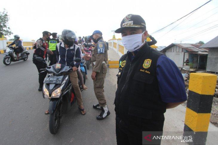 Wali Kota Banjarmasin Memantau Pelaksanaan PSBB