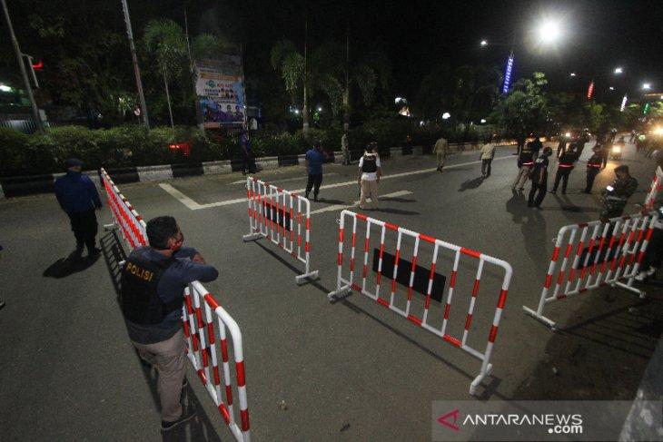 Jalan Masuk Kota Banjarmasin Di Tutup