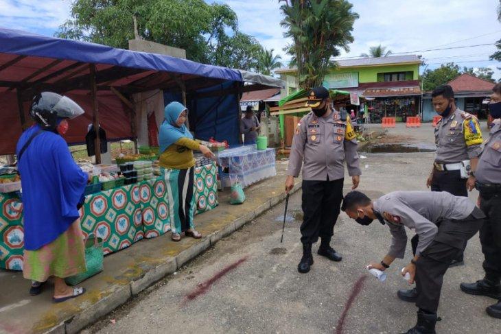 Polisi mengambil sikap terkait Pasar Juadah di Putussibau