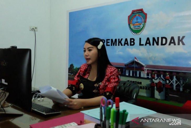 Karolin klaim pembangunan ekonomi Kabupaten Landak ke tren positif