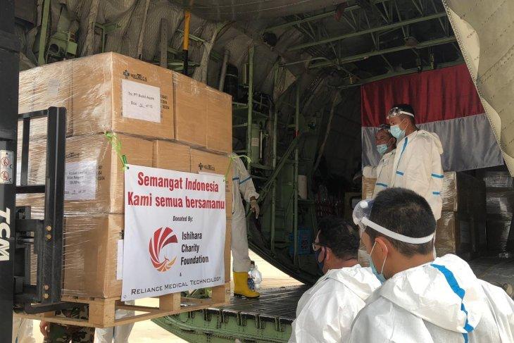 Ishihara Charity Foundation donates 140 thousand PPEs to Indonesia