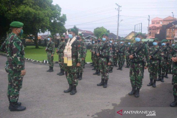 Danyonif 123 sambut prajurit purna tugas pengamanan di wilayah Maluku