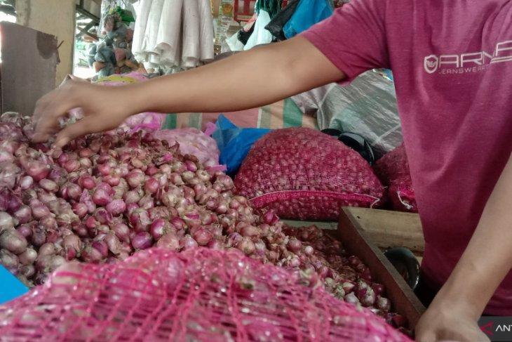 Harga bawang merah lokal di Banda Aceh naik jadi Rp45 ribu/kg