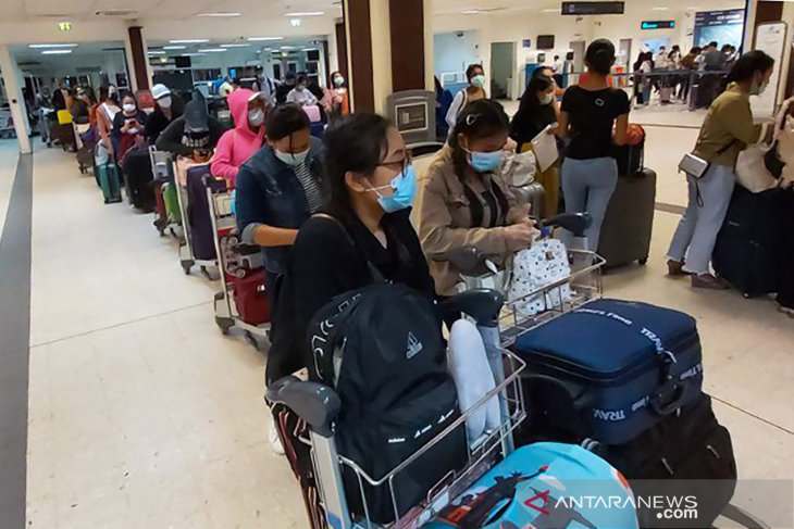 88,759 Indonesian migrant workers have returned home: minister