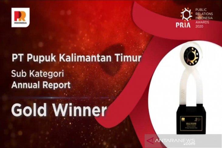 Pupuk Kaltim Raih 4 Penghargaan PR Indonesia Award 2020
