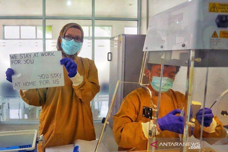Riau's Arifin Achmad Hospital received 521 COVID-19 swab samples