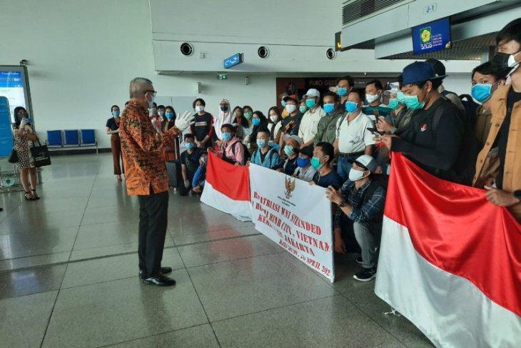 KJRI pulangkan 37 WNI dari Vietnam ke Jakarta