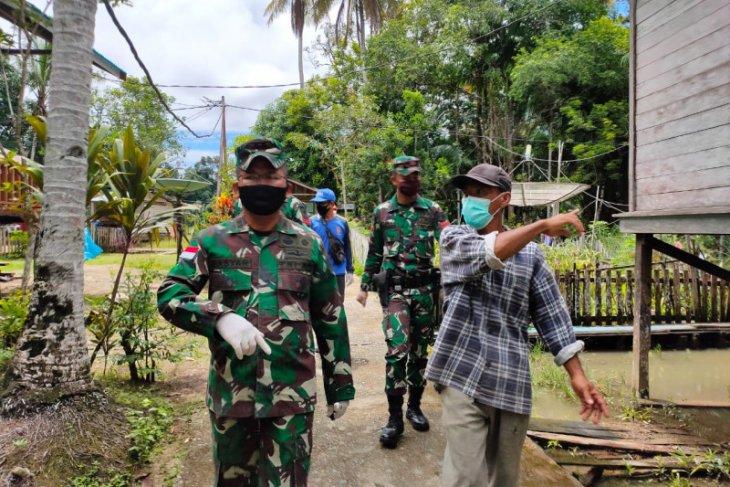 Ada warga positif COVID-19, Desa Suka Maju di semprot disinfektan
