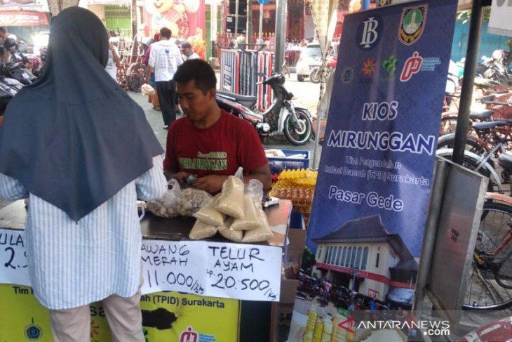 Stok beras Bulog Soloraya mencapai 15.400 ton
