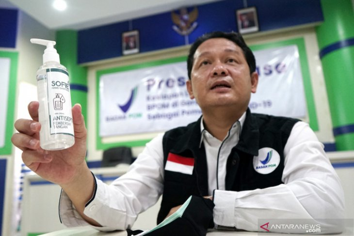 BPOM Gorontalo dan UMKM produksi hand sanitizer dari nira aren