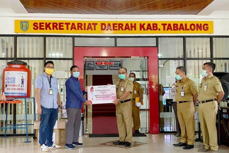 Pertamina EP Tanjung bantu penanganan COVID - 19 di Tabalong