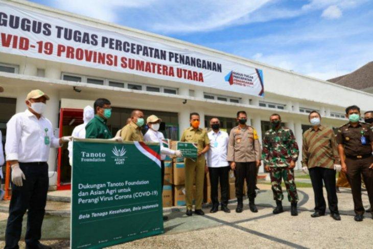 Tanoto Foundation dan Asian Agri bantu APD untuk Sumut