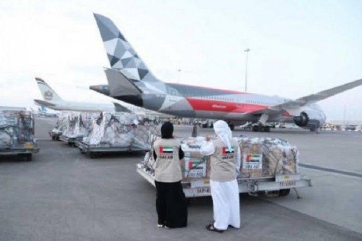 UAE kirimkan bantuan medis penanganan COVID-19 ke Indonesia