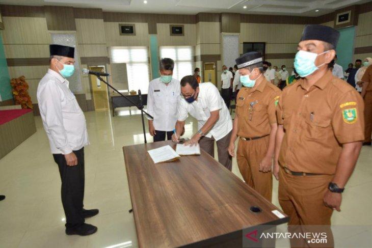 Sekda lantik pejabat eselon III dan IV di Kota Sabang