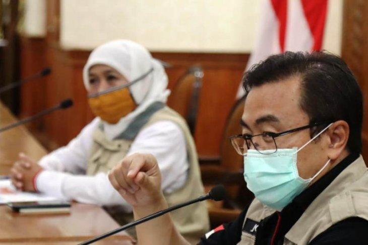 Gugus tugas Jatim tangani temuan klaster baru COVID-19 di pabrik Sampoerna Surabaya