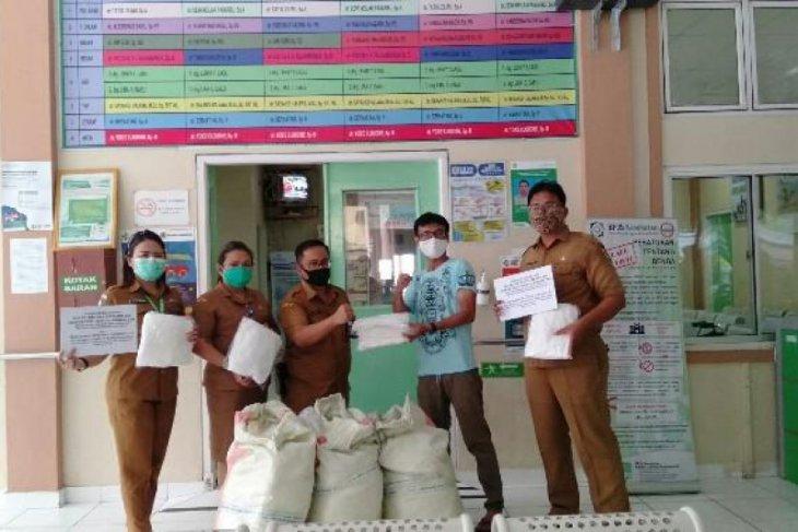 RSUD Gunungsitoli terima bantuan APD dari Komunitas Tionghoa  Nias-Jakarta
