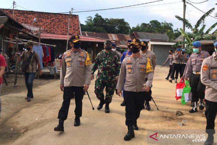 Polisi Bangka Barat tingkatkan edukasi putus mata rantai COVID-19