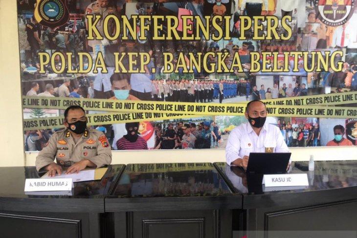 Dua oknum personel Polda Sumsel ditahan karena terlibat pencurian senpi