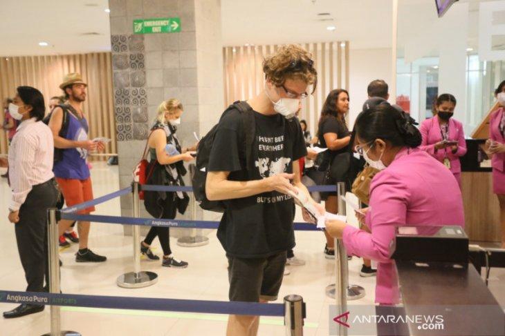 Bandara Bali layani pemulangan 3.408 warga negara asing