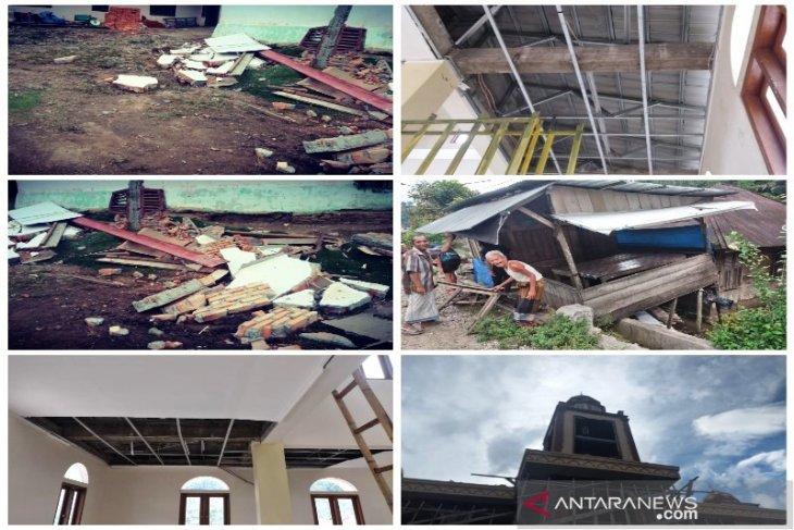 Sejumlah fasilitas  di Tapsel rusak dampak gempa magnitudo 5,6