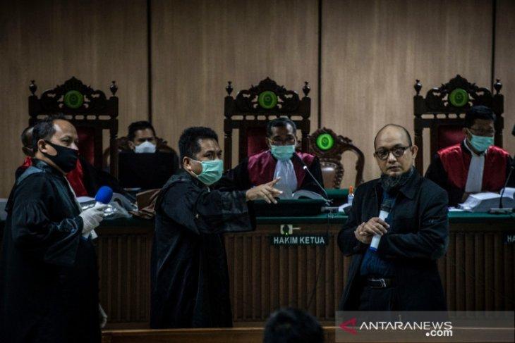 Empat orang akan bersaksi untuk kasus penyiraman Novel