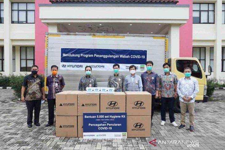 Bekasi terima bantuan 5.000 alat kebersihan dari Hyundai Motor