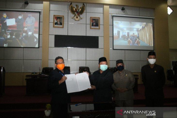 DPRD Banjar sahkan perda perpustakaan dan kearsipan
