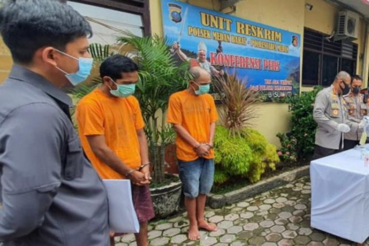 Polrestabes Medan ringkus pencuri pagar besi Lapangan Merdeka