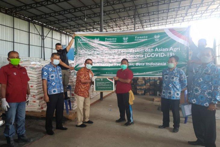 Asian Agri dan Tanoto Foundation bantu Gugus Tugas Percepatan Penanganan COVID-19 Labusel