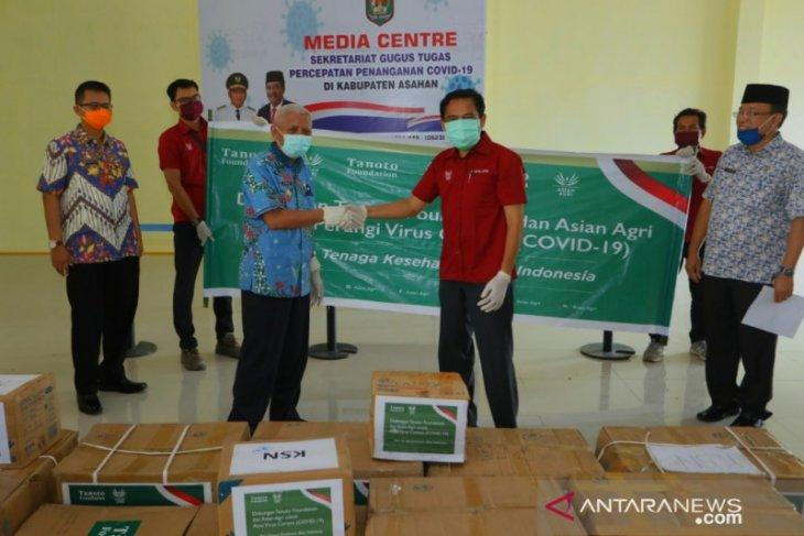 Gugus Tugas COVID-19 Asahan terima bantuan APD dari Tanoto Foundation dan Asian Agri
