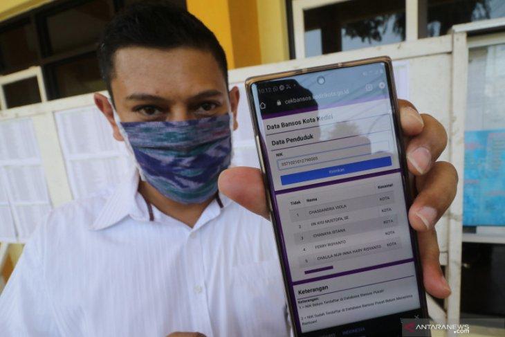 Pemkot Kediri luncurkan aplikasi pengecekan bantuan sosial