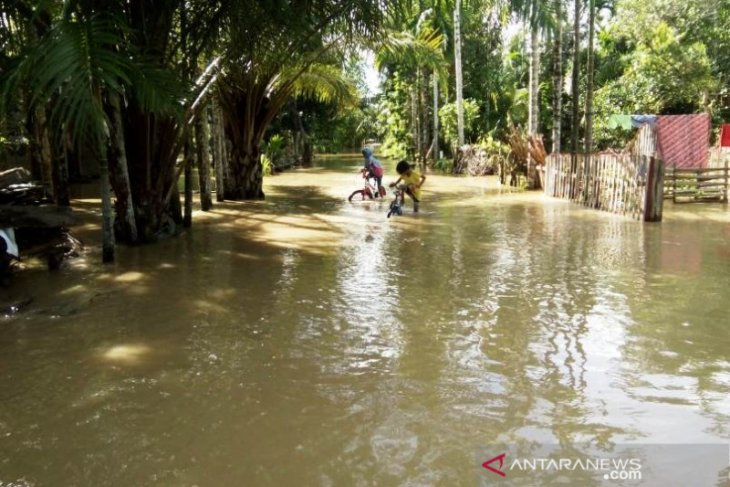 Floods swamp 11 villages in West Aceh District