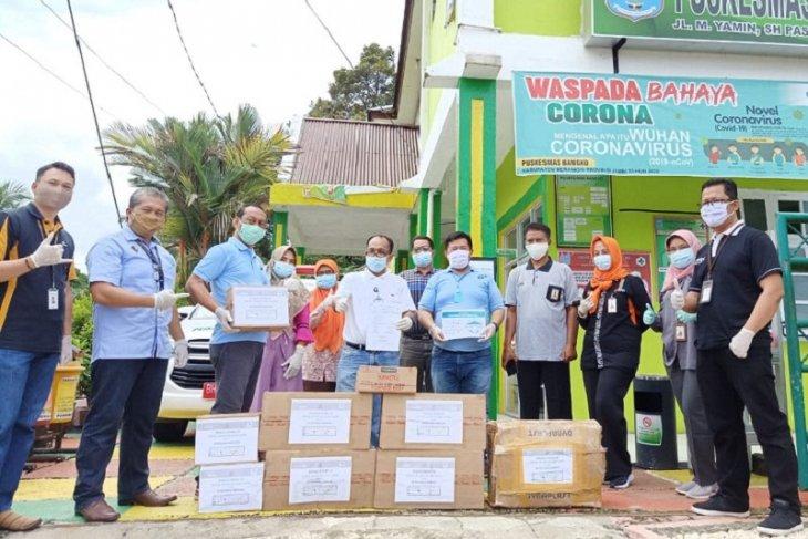 Satgas Bencana BUMN Jambi distribusikan APD ke RS dan Puskesmas Merangin