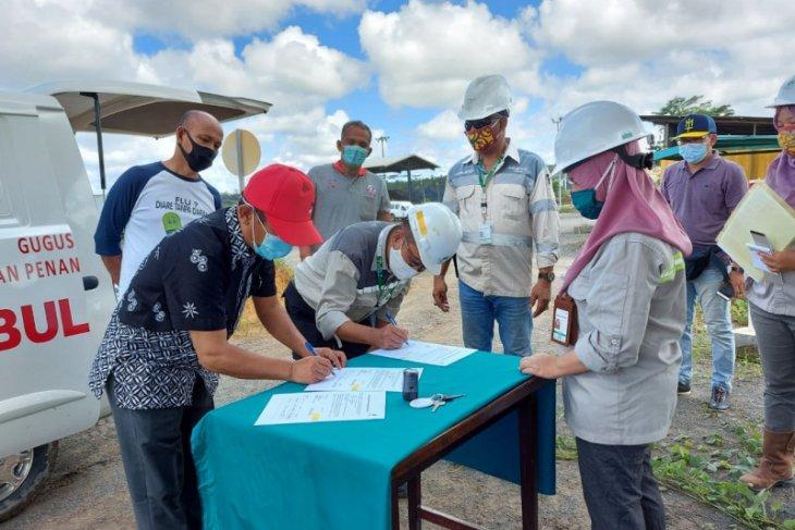 Adaro Metcoal Companies berikan bantuan kepada  Gugus Tugas Murung Raya