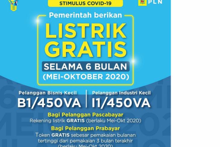 Berikut cara dapatkan listrik gratis PLN enam bulan
