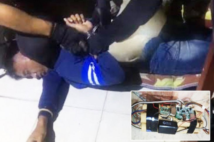 C Kalimantan Police detain perpetrator for planting bomb inside mosque